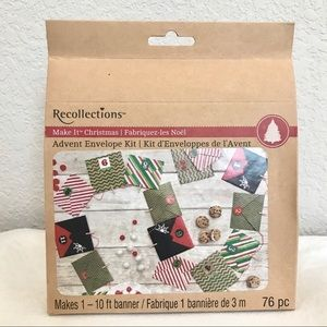 *NWT* Recollections Advent Envelope Craft Kit
